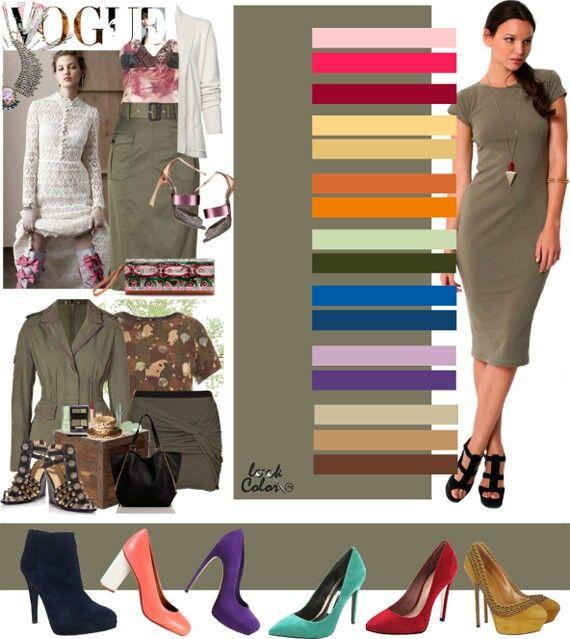 Сочетание цветов в одежде 022