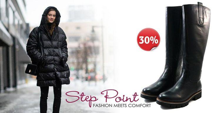 Δερμάτινες μπότες Gal με φοβερή εφαρμογή τώρα -30% http://www.step-point.gr/mpotes-gal.html