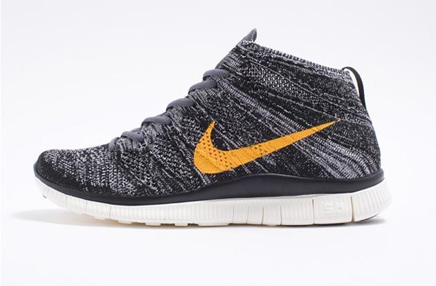 Nike Free Flyknit Chukka SP. Gold SneakersShoes ...