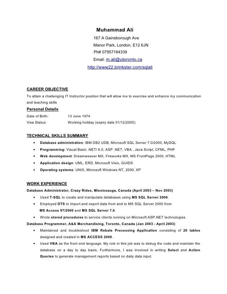 Resume objective examples hakkında Pinterestu0027teki en iyi 20+ fikir - statement form example