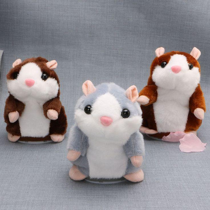 Talking Hamster Plush Toy Mimic Record Baby Kid #Unbranded #love #me #tbt #cute #follow #followme #photooftheday #onlineshopping #ebay #ebayseller #ebaystore