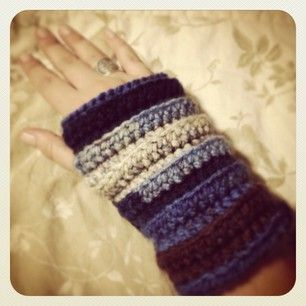 #wristers #crochet #handmade