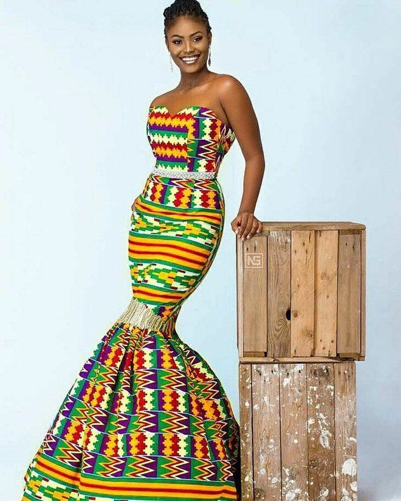 African Print Dress African Clothing For Women Ankara Dress
