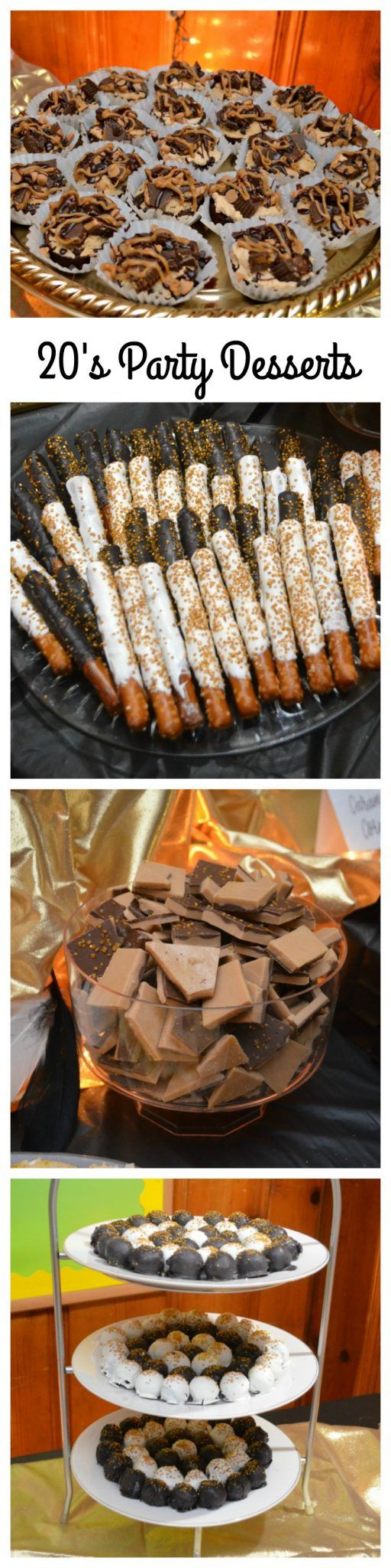 Roaring 20's Party Desserts