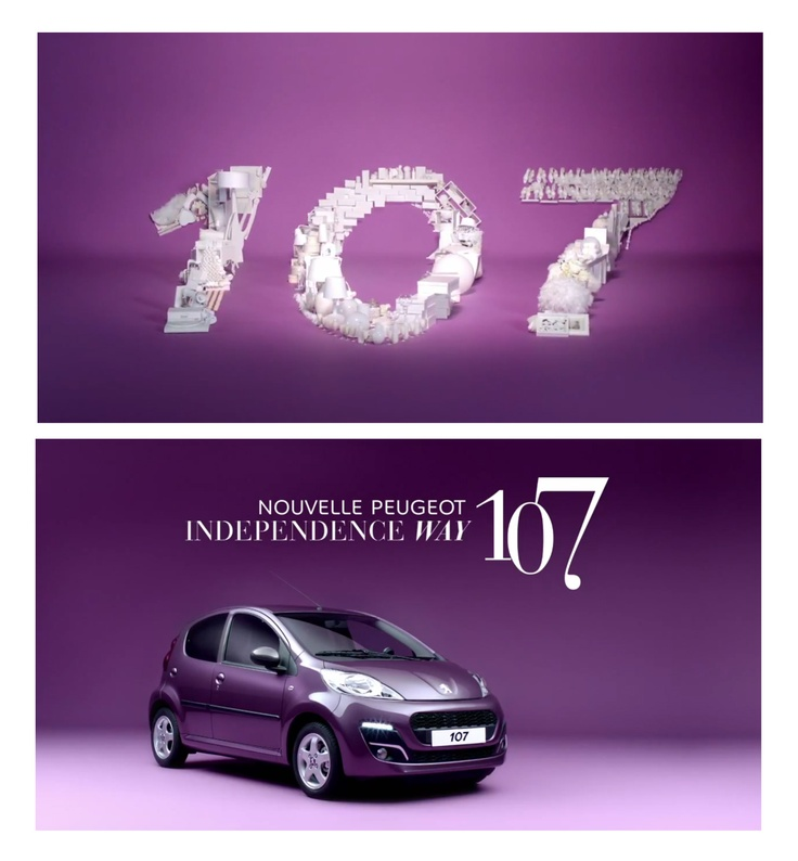 From Peugeot 107 2012 Commercial