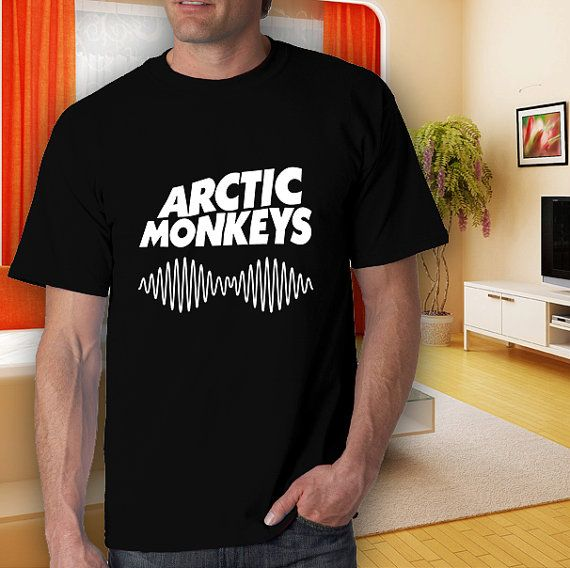 artic monkeys am wave adult black tshirt men women by goodwear, $14.99 #tshirt #t-shirt #5sostshirt