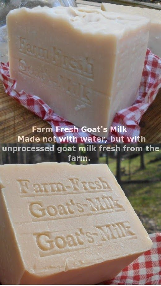 "Pamper yourself with our Goat's Milk Soap ,We get our organic goat's milk from a local Farm. "" Our goat milk soaps are  Goat's Milk Soap ,We get our organic goat's milk today?famous for their high-quality natural ingredients and its 100% fresh goat's milk, not dried powder milk. Goat's milk soap is good for everyday use to moisturize and condition your skin Our Artisan soaps are wonderful skin care.  Google our Farm  on North Caroline"