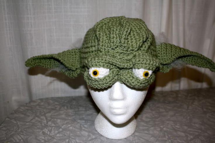 Free Crochet Pattern For Baby Yoda Hat : Yoda Hat Crochet Pattern Star Wars for my boys ...