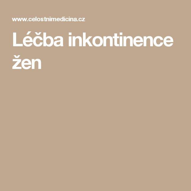 Léčba inkontinence žen