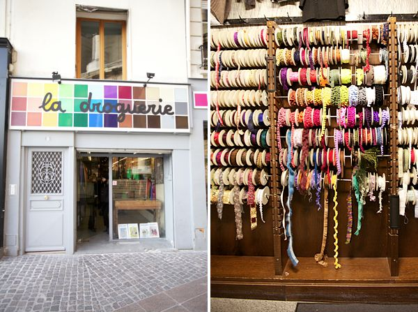 La Droguerie - adorable craft store in Paris