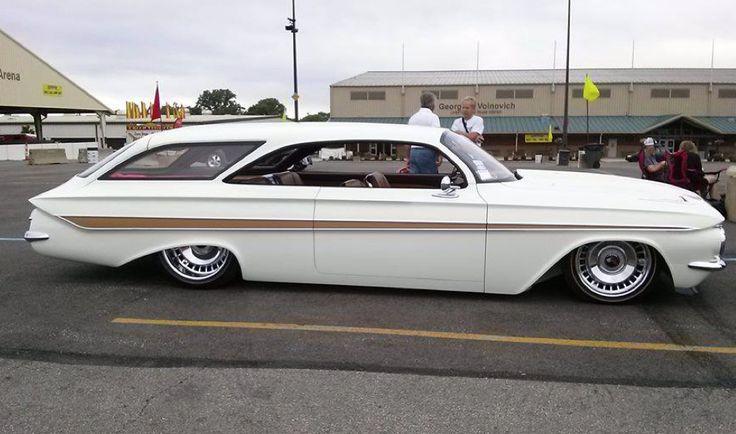 1961 Kustom 2 door Chevrolet Impala wagon