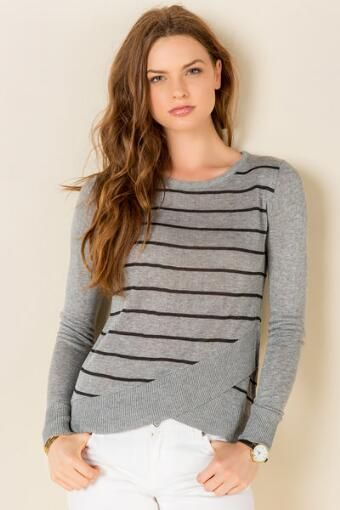 Hockley Striped Sweater