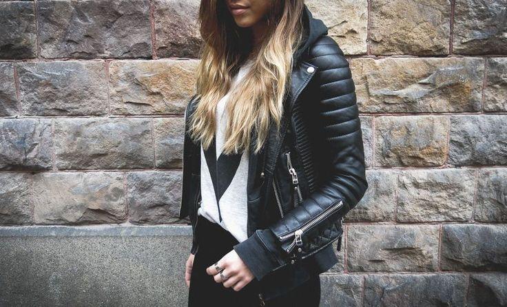 HOT Women's Genuine Lambskin Real Leather Motorcycle Slim fit Biker Jacket WN160 | eBay #clothing #fashion #bomberjacket #motorcyclejacket #bikerjacket #kozaleathers
