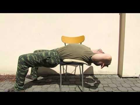 Cviky na uvolnění hrudní páteře. Cviky na bolest hrudní páteře. - YouTube