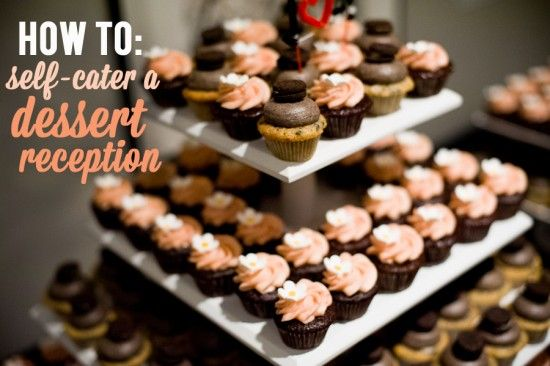 How to self-cater a dessert reception. Fun! And sugar! #classicAPW