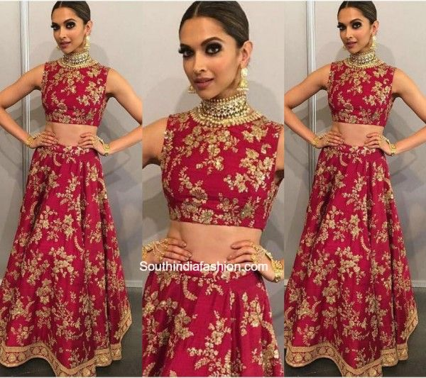 Deepika Padukone in Sabyasachi photo