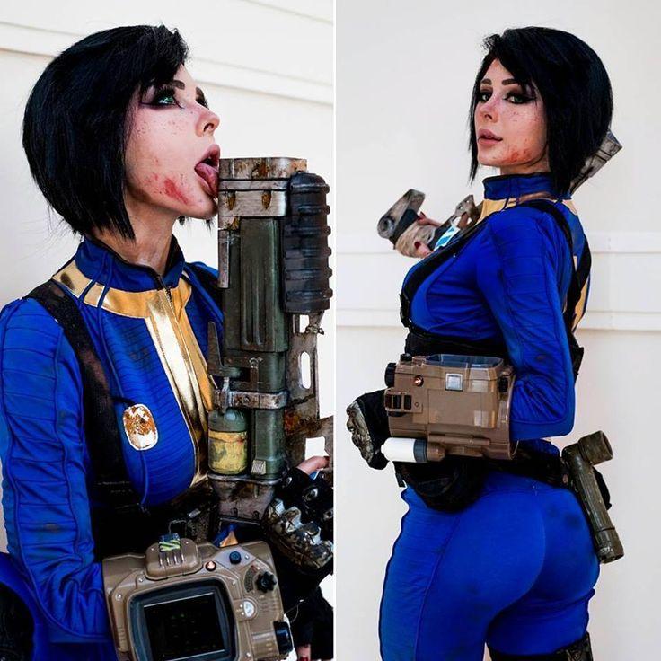 "steam-and-pleasure: ""Vault Dweller from Fallout 4 Cosplayer: Jenna Lynn Meowri Photographer: @caelumphoto """