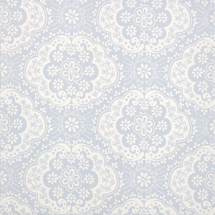 Contemporary Wallpaper | With Itu0027s Bright Intricate Floral Motif, Dentelle  Designer Wallpaper .