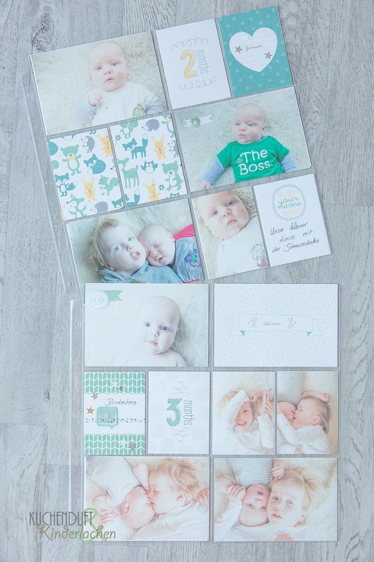 BlogHop for years 2015-2016 catalog {Baby Album with Project Life} | cake fragrance & Kinderlachen