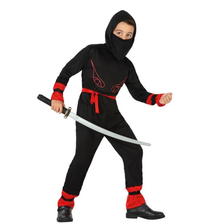 Disfraz de Guerrero Ninja Rojo #disfraces #carnaval #novedades2015