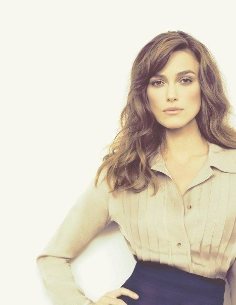 Keira Knightley--hair!