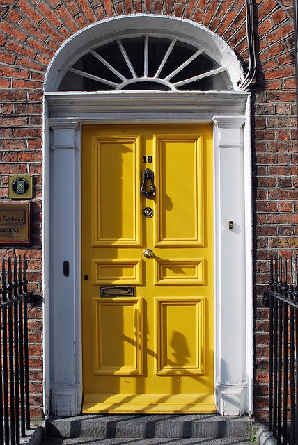 A Georgian Door at 10 Bindon Street, Ennis, County Clare.