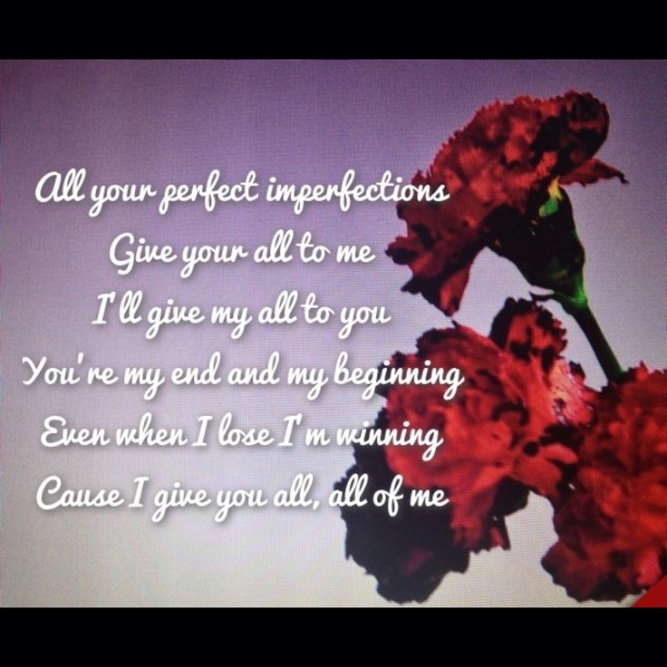 New single John Legend -All of me | Quotes | Pinterest ...