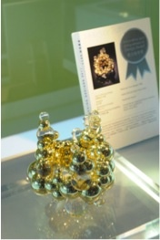 Kristen Malan's Molecular Truth on display at the Hong Kong International Jewellery Fair