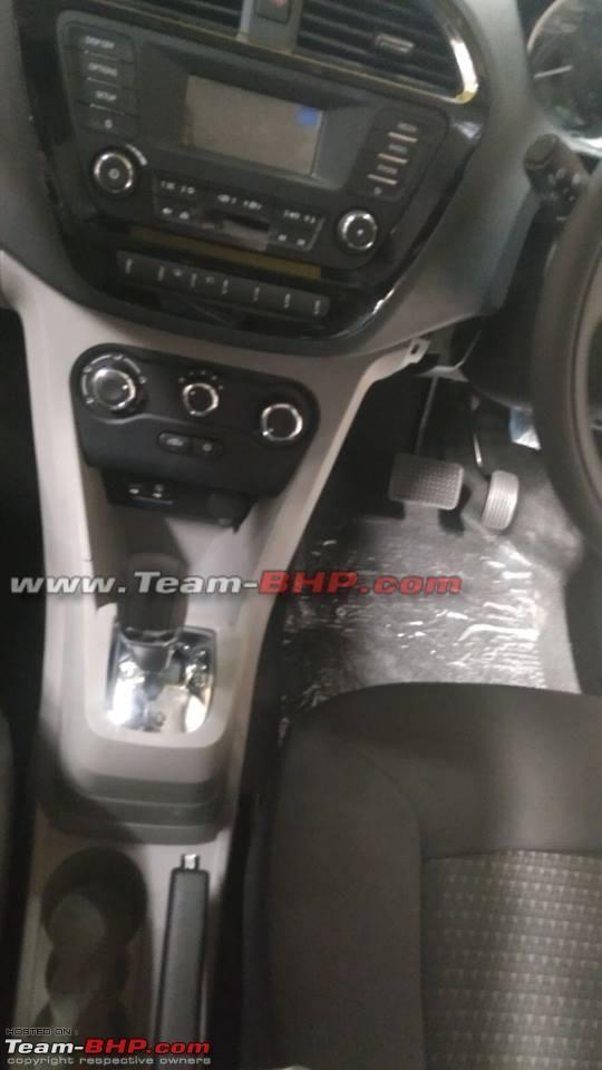 #Tata #Tiago AMT's interior exposed again in spy shots