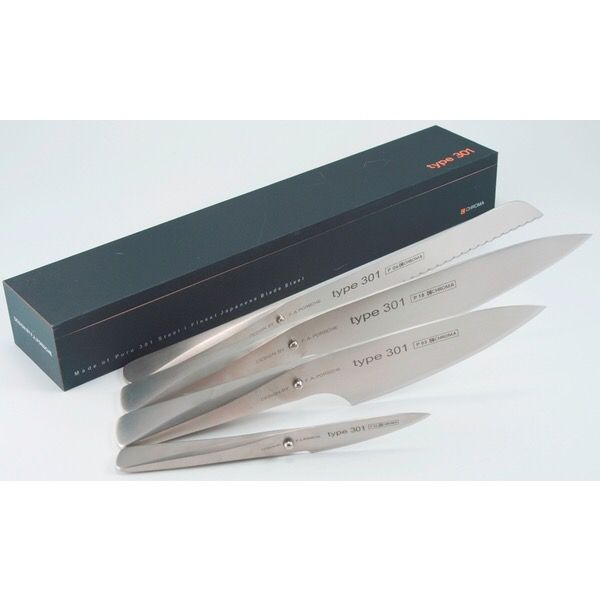 5 skarpa knivar -