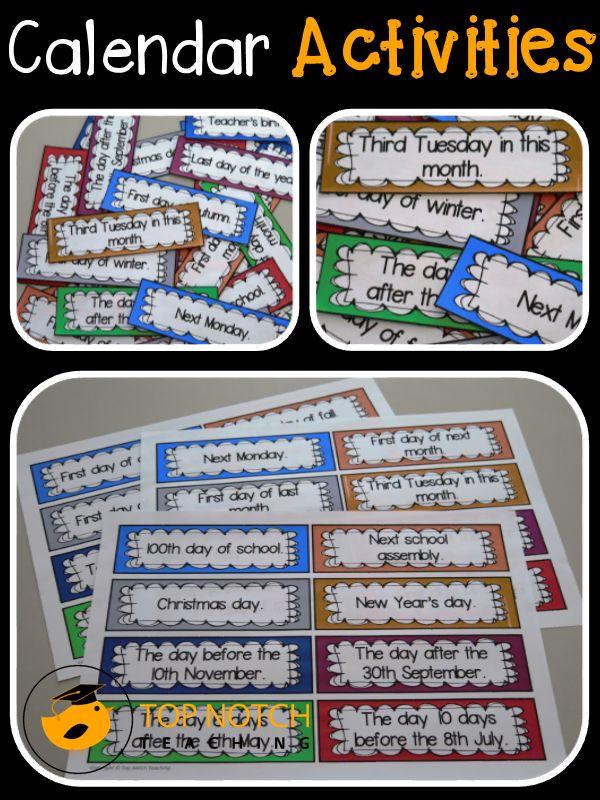 Calendar Games Kindergarten : Best calendar activities ideas on pinterest