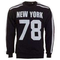 """Ανδρική Μπλούζα Sweatshirt """"NY 78"""" So Fashion"""