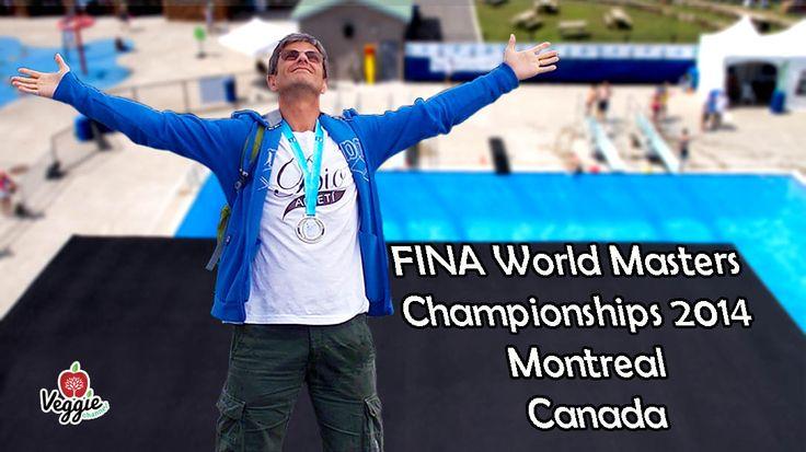 """Ecco finalmente il video del Campionato Mondiale Master FINA 2014 svoltosi quest'estate a Montreal, Canada. """"La Sfida (Puntata 17) - FINA World Masters Championships 2014 a Montreal"""": http://www.veggiechannel.com/video/la-sfida-di-massimo-leopardi/la-sfida-puntata-17-fina-masters-2014"""