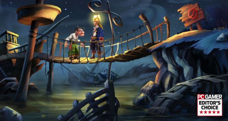 Monkey Island 2: Special Edition review - a simple yet intriguing point and click game, one of the best of its kind.