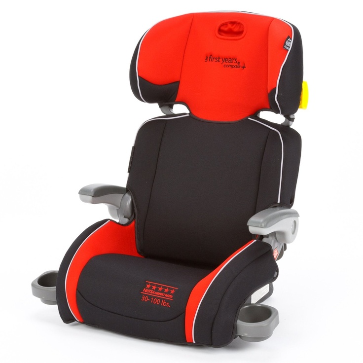 Compass Folding Adjustable Booster Car Seat