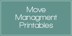 A collection of printables to help you stay organized during your next move with a Move Management binder.