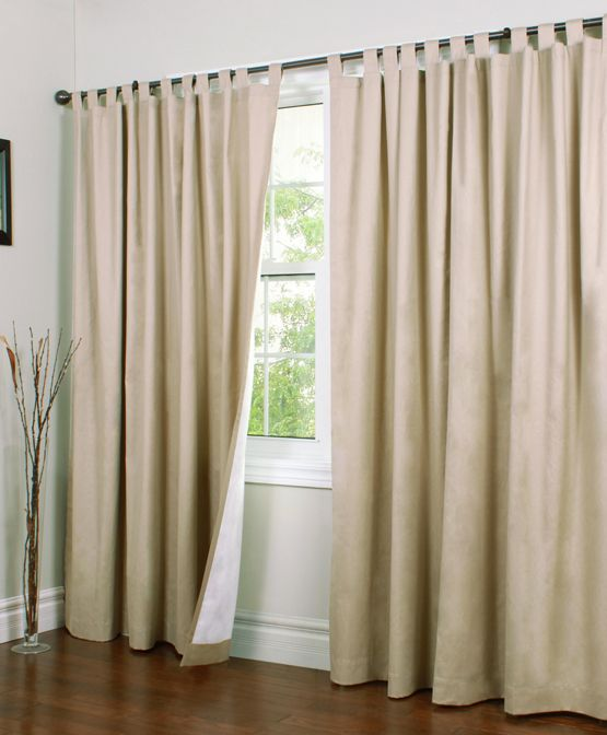 9 best tab curtains make your living room look great Great room curtain ideas