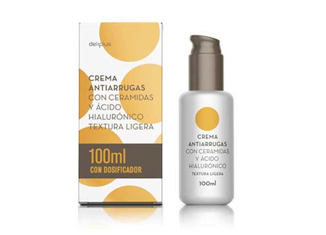 Crema Antiarrugas Deliplus Cremas Rellenador De Arrugas Cremas Faciales