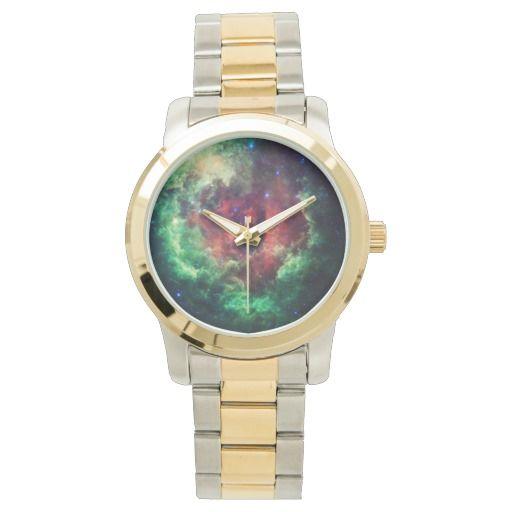 Unicorns and Roses Nebula wrist watch