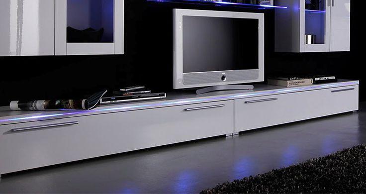 Stolik pod telewizor biały