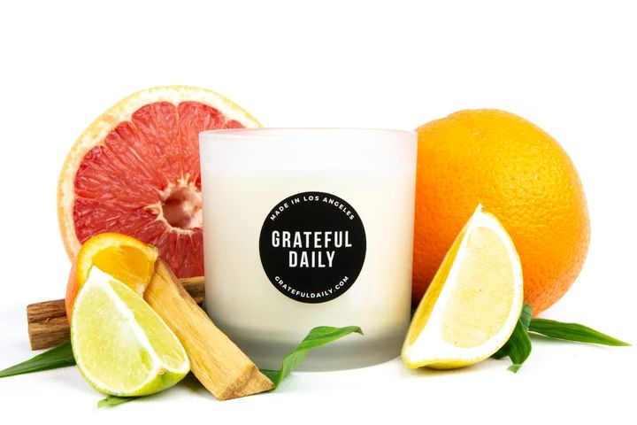 Grateful daily candles gifts and more candle club