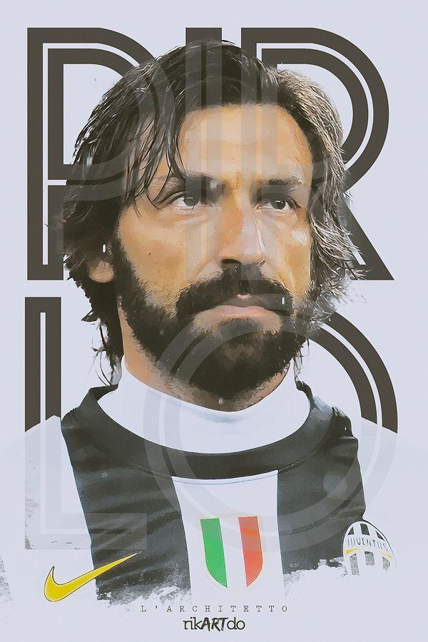 l'architetto by Ricardo Mondragon, via Behance #soccer #poster #pirlo