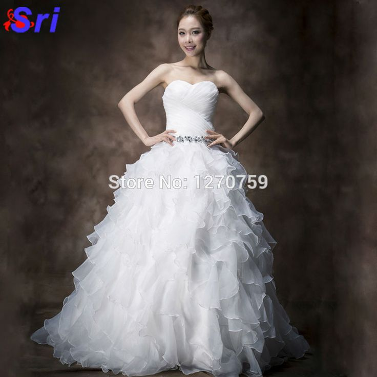 Find More Dresses Information about 2016 Wedding Dress Strapless Ruffles Luxury Vestido De Noiva Com Manga Curta Princess wedding dress Islamic Wedding Dress,High Quality dress tango,China dresses for engagement party Suppliers, Cheap dresses dress up from Sritrade International Co., Ltd on Aliexpress.com