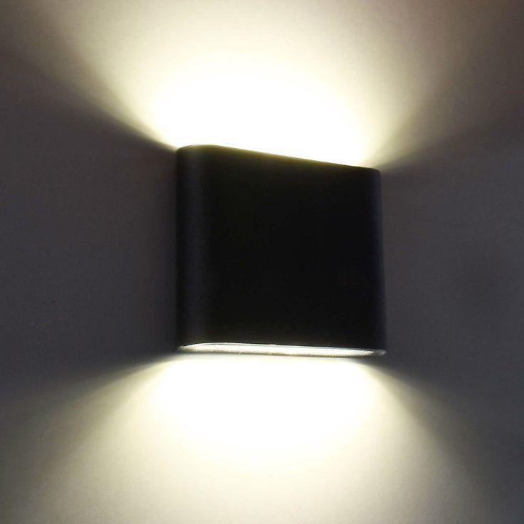 details zu led au enleuchte wandlampe wandleuchte leuchte. Black Bedroom Furniture Sets. Home Design Ideas