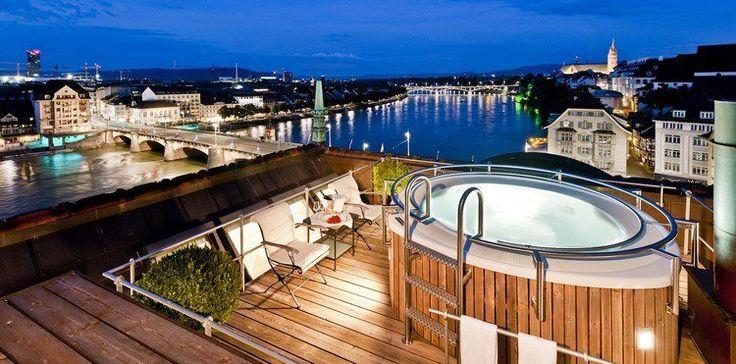 17 meilleures id es propos de jacuzzi ext rieur sur pinterest spa jacuzzi - Jacuzzi exterieur sur terrasse ...
