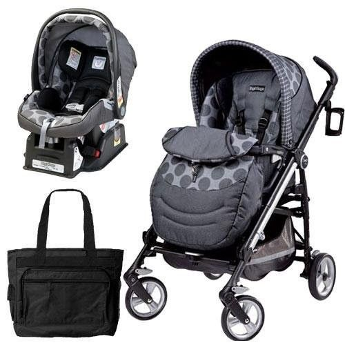 Peg Perego Switch Four Travel System With A Diaper Bag