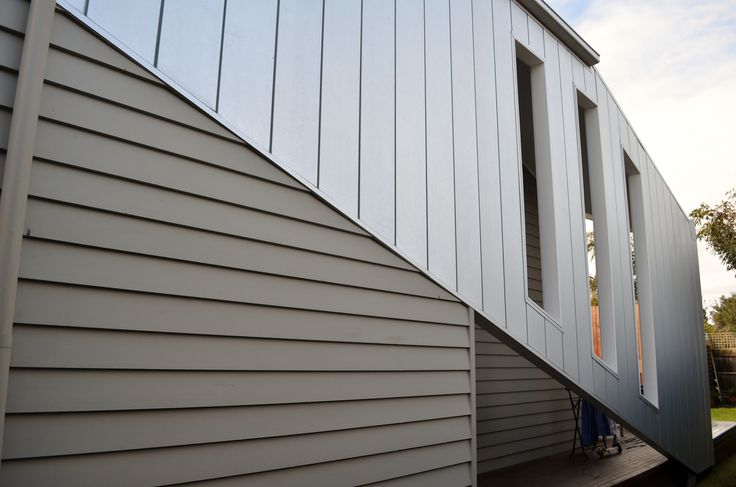 Exterior Metal Cladding Systems : Zincalume interlocking panel design cladding we install
