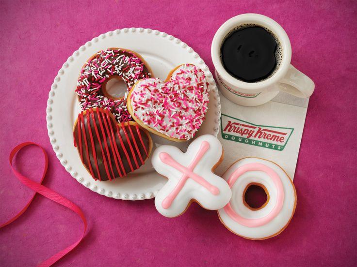 X and O shaped doughnuts make their debut! Krispy kreme