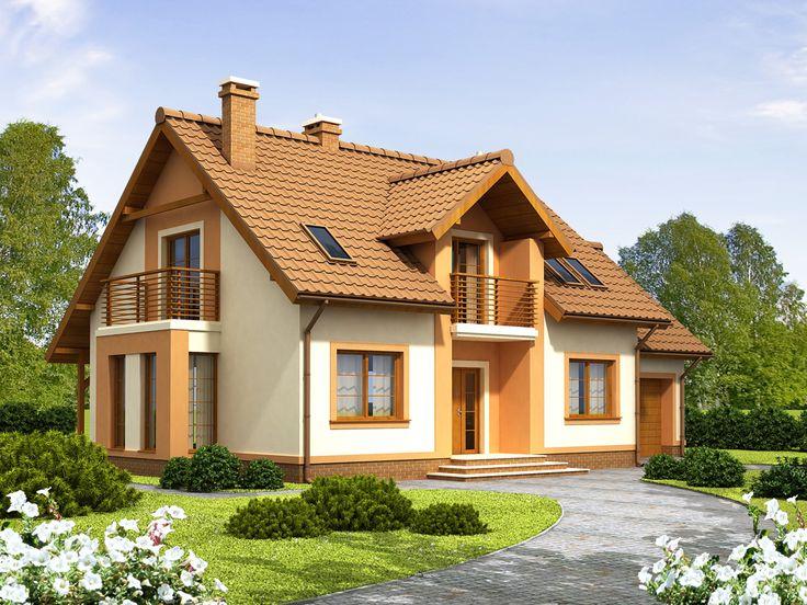 DOM.PL™ - Projekt domu ARN Tofi CE - DOM RS1-12 - gotowy projekt domu