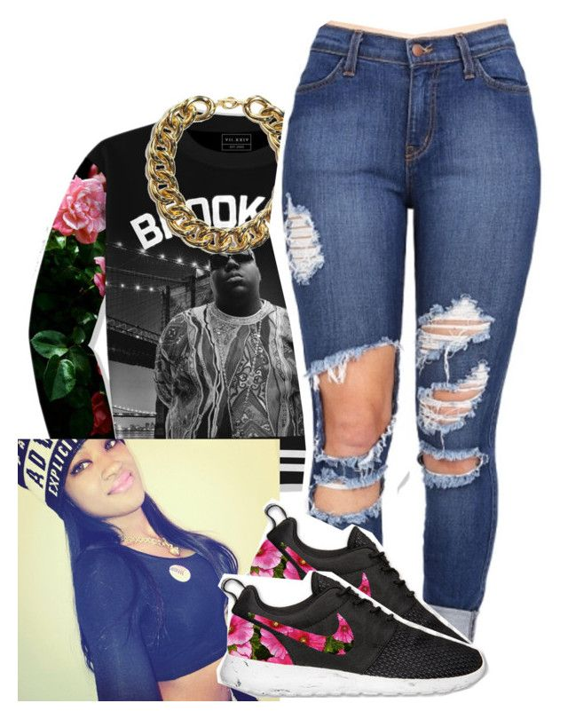 U0026quot;Untitled #9u0026quot; by trillest-paradise liked on Polyvore featuring NIKE womenu0026#39;s clothing women ...